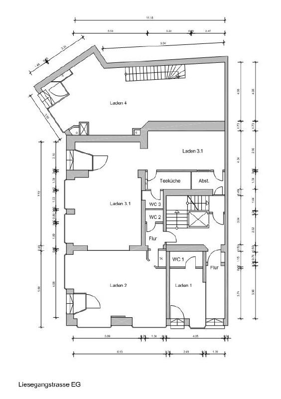 Gesamtgrundriss Erdgeschoss